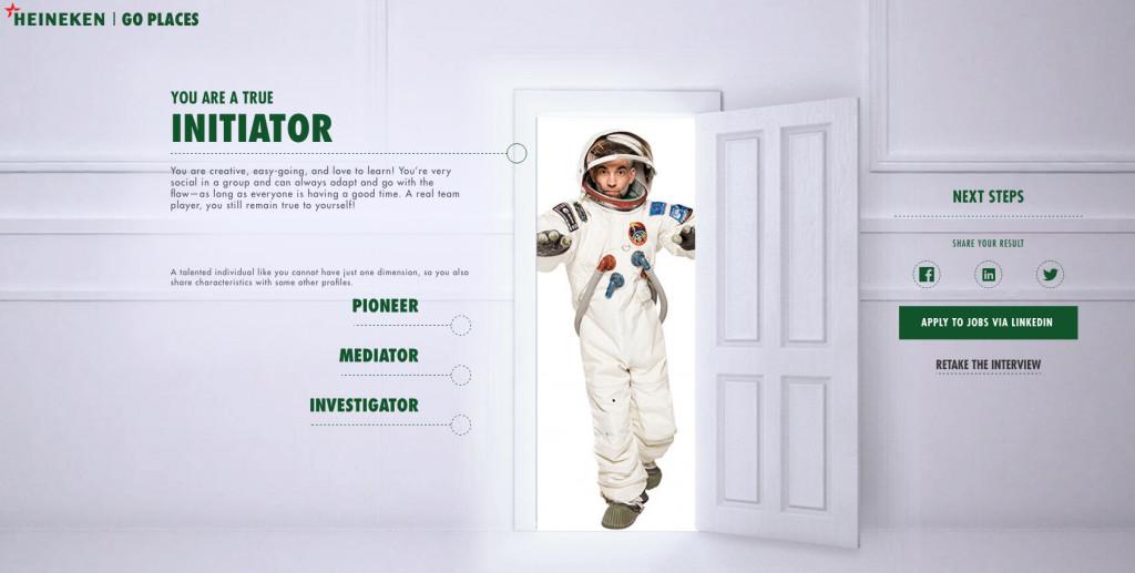 Recrutement decale - Heineken - neojobs