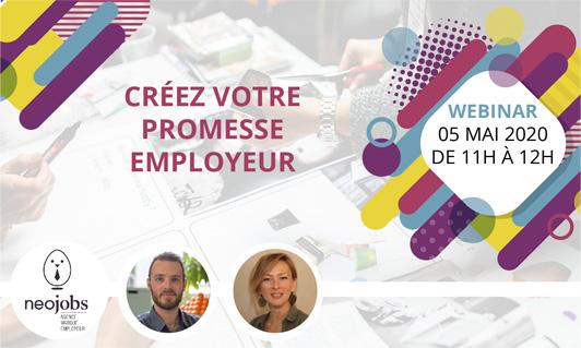 webinar marque employeur Créez votre promesse employeur