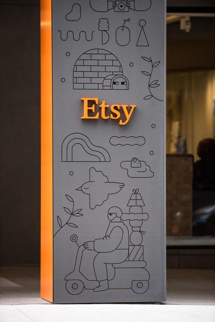zoom la marque employeur d'Etsy